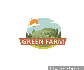 GREEN FARM logo设计