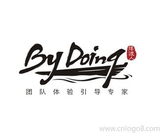 by doing字体logo设计