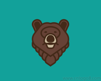 Grizzly Bear灰熊logo标志