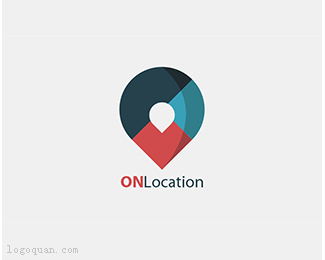 ONLocationlogo设计