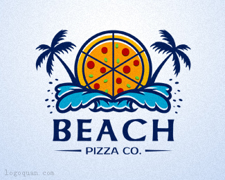 BEACH PIZZAlogo