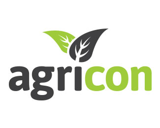 agricon标志设计