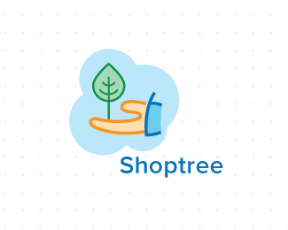 Shoptree标志