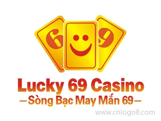 Lucky 69 Casino (Sòng b?c may m?n 69) Logo/标志设计企业logo