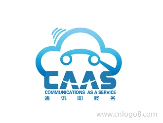 CAAS  (Communications as a Service  通讯即服务)企业标志