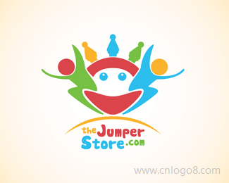 JumperStore标志设计