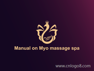 Manual on Myo massage spalogo设计