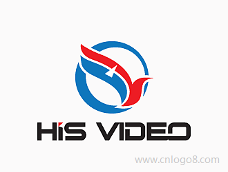 HIS  VIDEOlogo设计