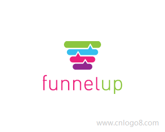 funnelup标志设计