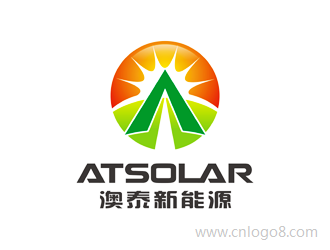 洛阳澳泰新能源有限公司 LOGO  LUOYANG AOTAI SOLUR CO.,LTD.企业logo