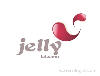 英文LOGO:jelly 中文:信宇通讯LOGO