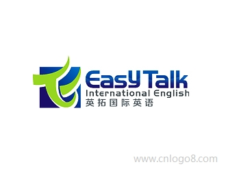 Easy Talk International English 英拓国际英语企业logo