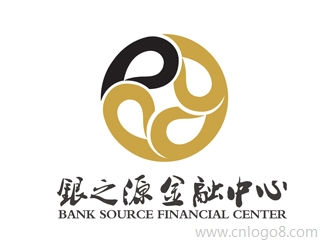 银之源金融中心bank source financial center公司标志